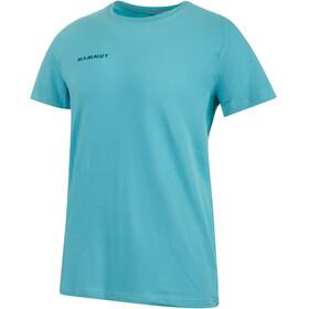 Mammut Logo Bluzka z krótkim rękawem Mężczyźni niebieski